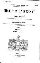 Historia universal: Filosofía y literatura. Documentos, Volumen 9