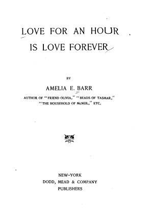 Love for an Hour is Love Forever