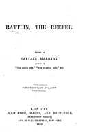 Rattlin  the Reefer   By Edward Howard   Edited by Captain Marryat PDF