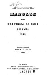 Almanacco Della Provincia Di Como: Volume 11