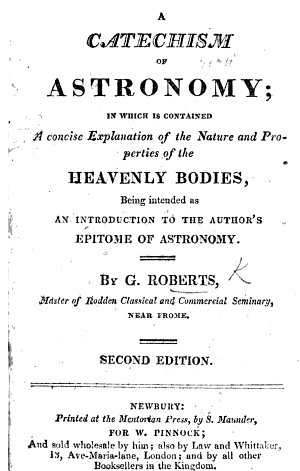 A Catechism of Astronomy     Second edition