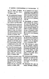 Catalogue méthodique de la bibliothèque de la ville de Boulogne-sur-Mer: livres imprimés
