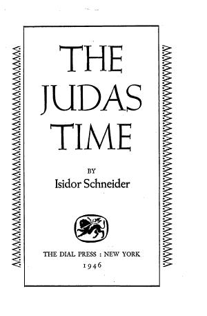 The Judas Time