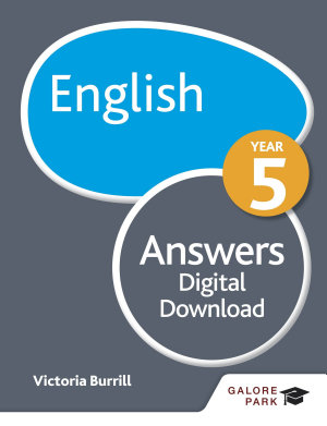 English Year 5 Answers PDF