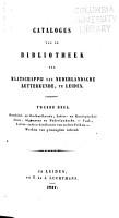 Catalogus van de bibliotheek PDF