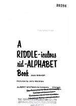 A Riddle-iculous Rid-alphabet Book