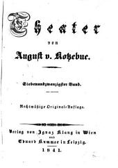 Theater von August V. Kotzebue