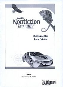 TIME For Kids Nonfiction Readers  Challenging Plus Teacher s Guide PDF