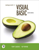 Starting Out with Visual Basic PDF