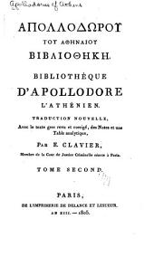 Bibliothèque d'Apollodore l'Athénien: Volume2