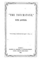 The Touchstone   with answers PDF