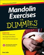 Mandolin Exercises For Dummies