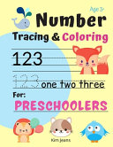 Number Tracing & Coloring for Preschoolers