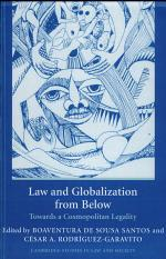 Law and Globalization from Below