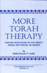 More Torah Therapy Book PDF