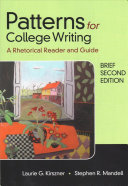 Patterns for College Writing  Brief Second Edition