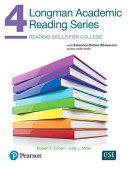Longman Academic Reading Series 4 Sb with Online Resources