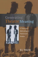 Generating Theatre Meaning PDF