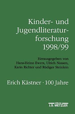 Kinder  und Jugendliteraturforschung 1998 99 PDF