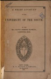 A Brief Account of the University of the South