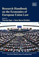 Research Handbook on the Economics of European Union Law PDF
