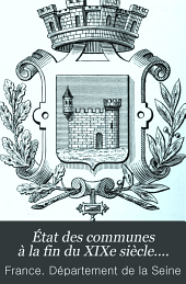 État des communes à la fin du XIXe siècle....: Volume5