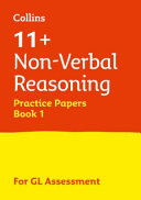11+ Non-Verbal Reasoning Practice Papers Book 1