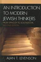 An Introduction to Modern Jewish Thinkers PDF