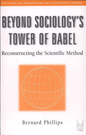 Beyond Sociology s Tower of Babel PDF