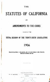 Statutes of California