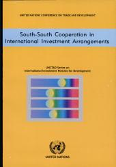 South-South Cooperation in International Investment Arrangements