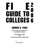 The Fiske Guide to Colleges PDF