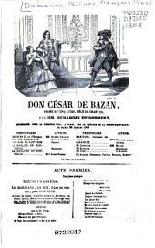 Don César de Bazan: drame en cinq actes mêlé de chant (1)
