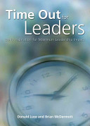 Time Out for Leaders