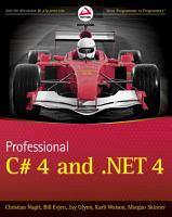 Professional C  4 0 and  NET 4 PDF