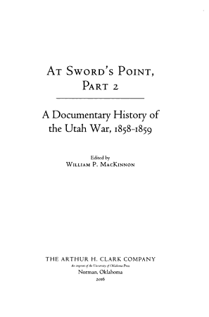 At Sword s Point PDF