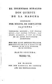 El ingenioso hidalgo Don Quixote de la Mancha: Volumen 6