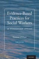 Evidence Based Practices for Social Workers PDF