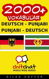 2000+ Deutsch - Punjabi Punjabi - Deutsch Vokabular