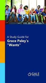A Study Guide for Grace Paley's