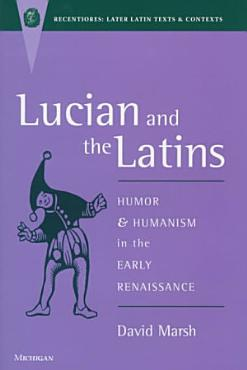 Lucian and the Latins PDF