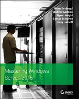 Mastering Windows Server 2016 PDF