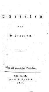Schriften: Band 29