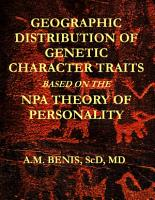 Geographic Distribution of Genetic Character Traits Based on the NPA Theory of Personality PDF