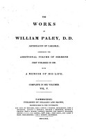 The Works of William Paley     PDF