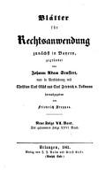 Dr  J  A  Seuffert s Bl  tter f  r Rechtsanwendung PDF