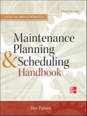 Maintenance Planning and Scheduling Handbook 3 E PDF