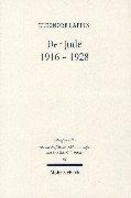Der Jude  1916 1928 PDF