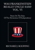 Was Frankenstein Really Uncle Sam  Vol  Vi PDF