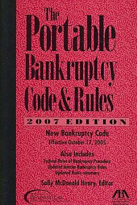The Portable Bankruptcy Code and Rules PDF